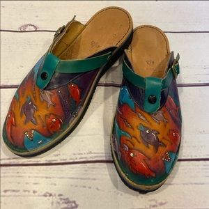 🐠Hand Painted Slip On Shoes🐠